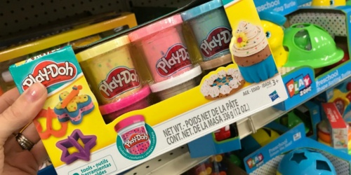 Play-Doh Confetti 6-Pack w/ Tools Only $4.49 on Kohls.com