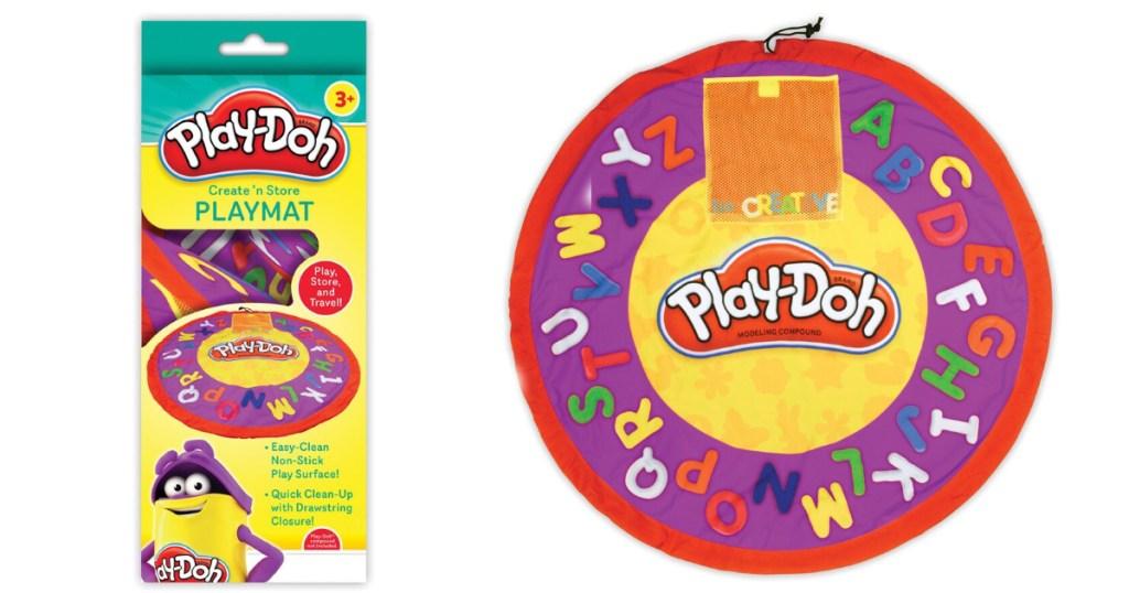 play doh play n store playmat