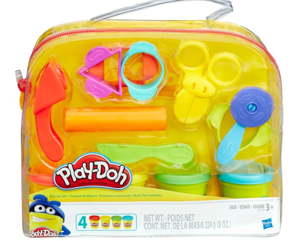 play doh starter set in bag
