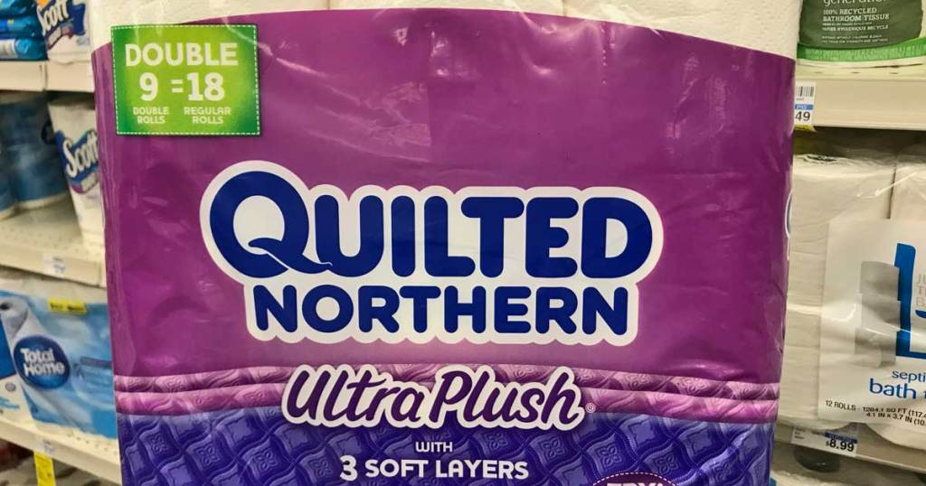 quilted northern 9 pack of toilet paper