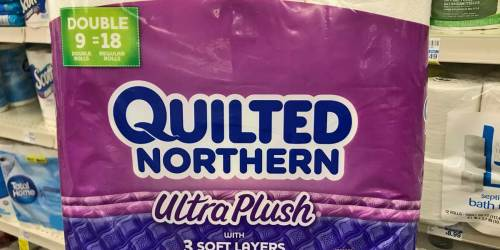 Quilted Northern Double Rolls 9-Pack Only $4.49 on Walgreens.com