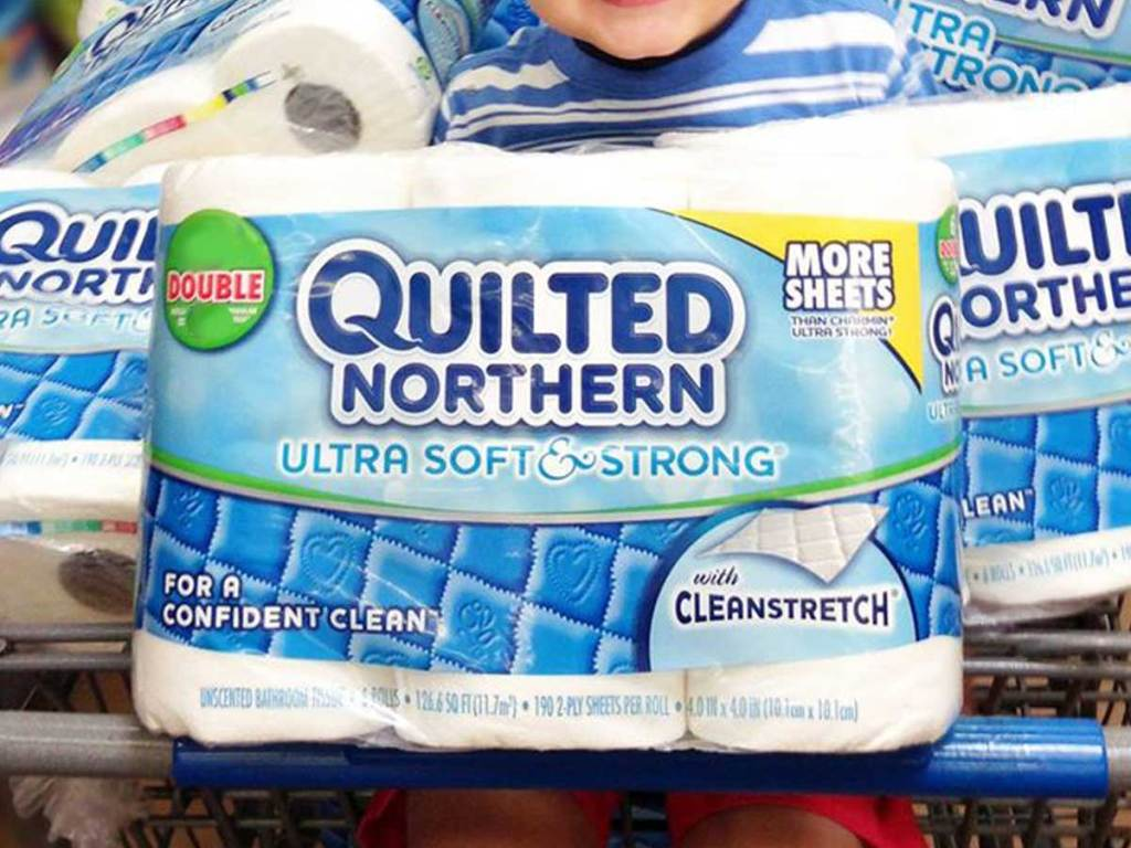 quilted northern toilet paper 9 pack