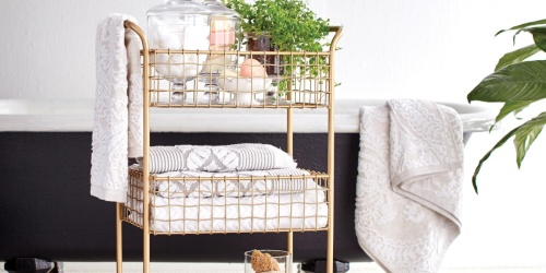 Rolling Storage Carts Only $53.99 on Cost Plus World Market (Regularly $100)