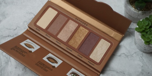 Sephora Eyeshadow Palette Just $4 Shipped (Regularly $18)   PLUS 2 Free Samples