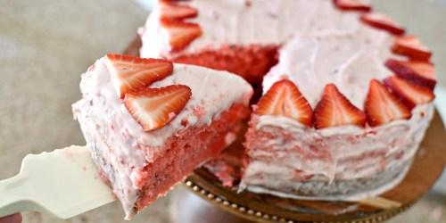 Bake This Award Winning Strawberry Cake!