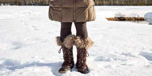Up to 70% Off Sorel Men's & Women's Winter Boots