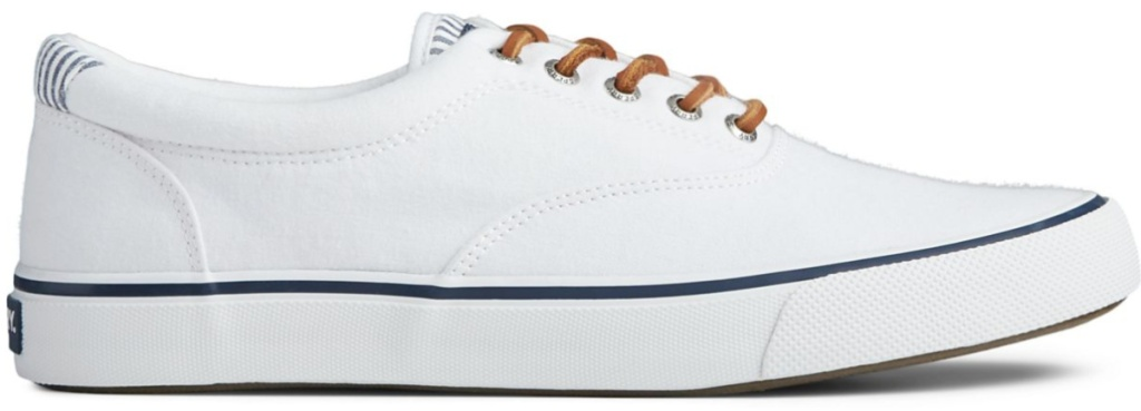 white sperry shoes