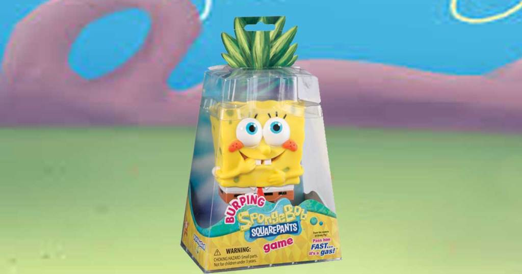 spongebob burping game