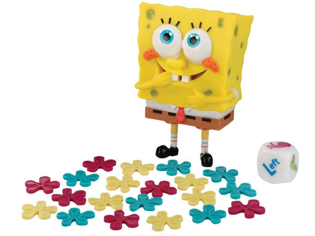 spongebob burping game stock image
