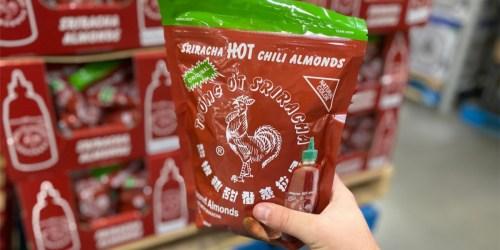 New Sriracha HOT Chili Almonds Just $10.98 at Sam's Club