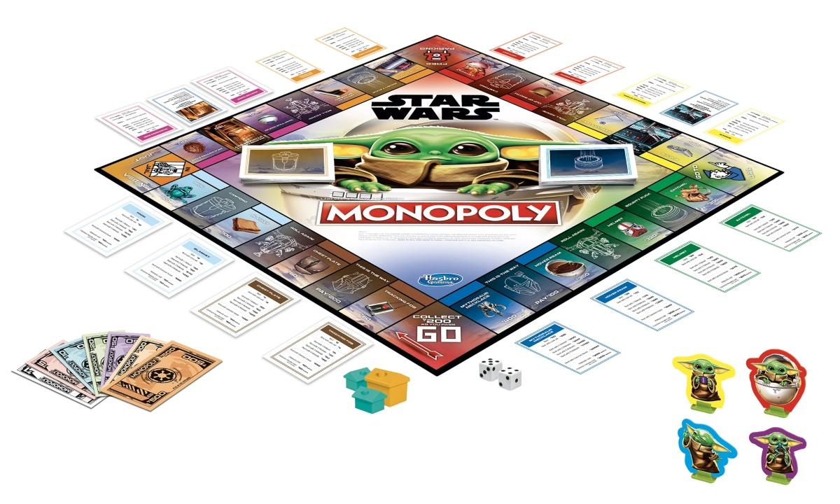 Mandalorian Monopoly game