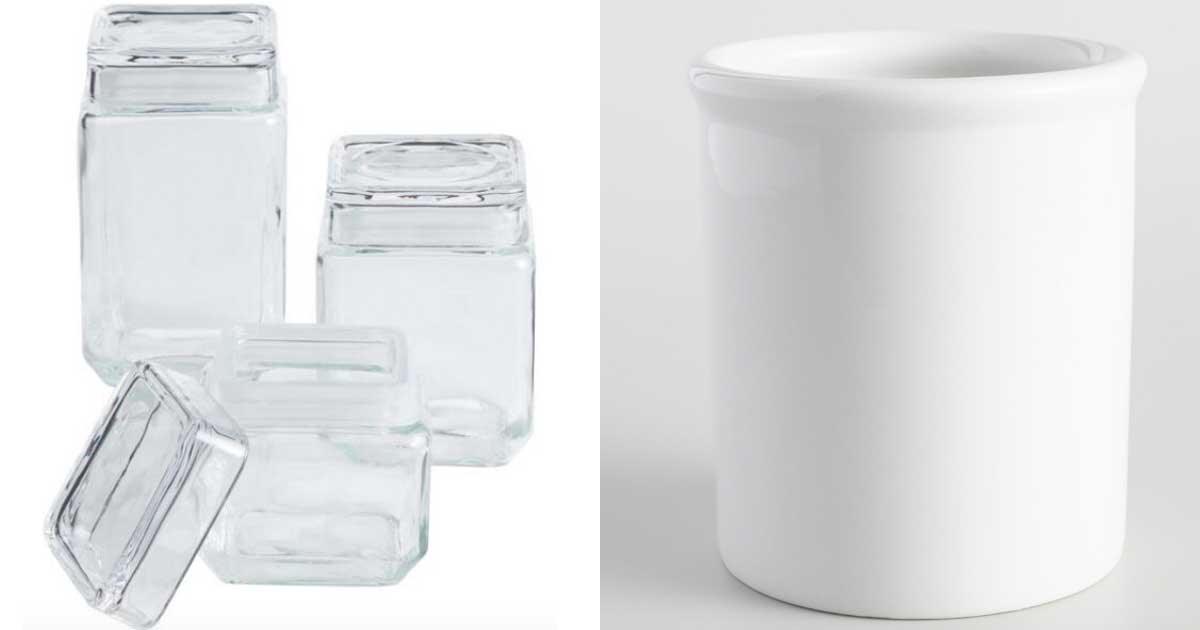 storage containers jars and containers stock images