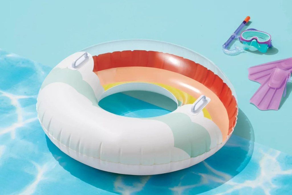 sun squad rainbow tube
