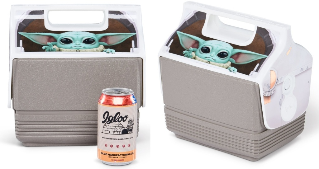 two coolers featuring The Child
