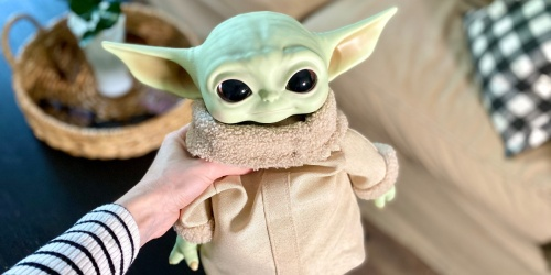 Star Wars The Child Real Moves Plush Just $39.99 Shipped on Target.com (Regularly $65)