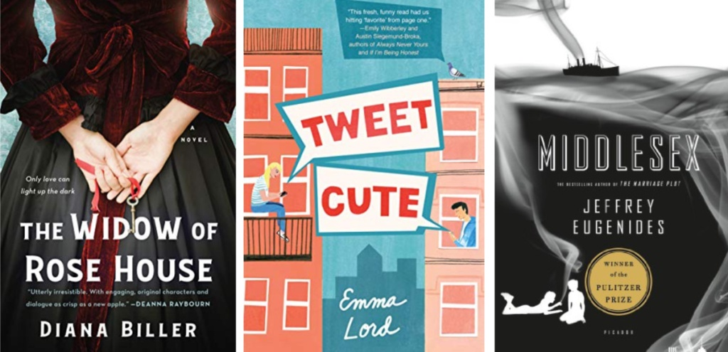 the widow of rose house, tweet cute and middlesex ebooks