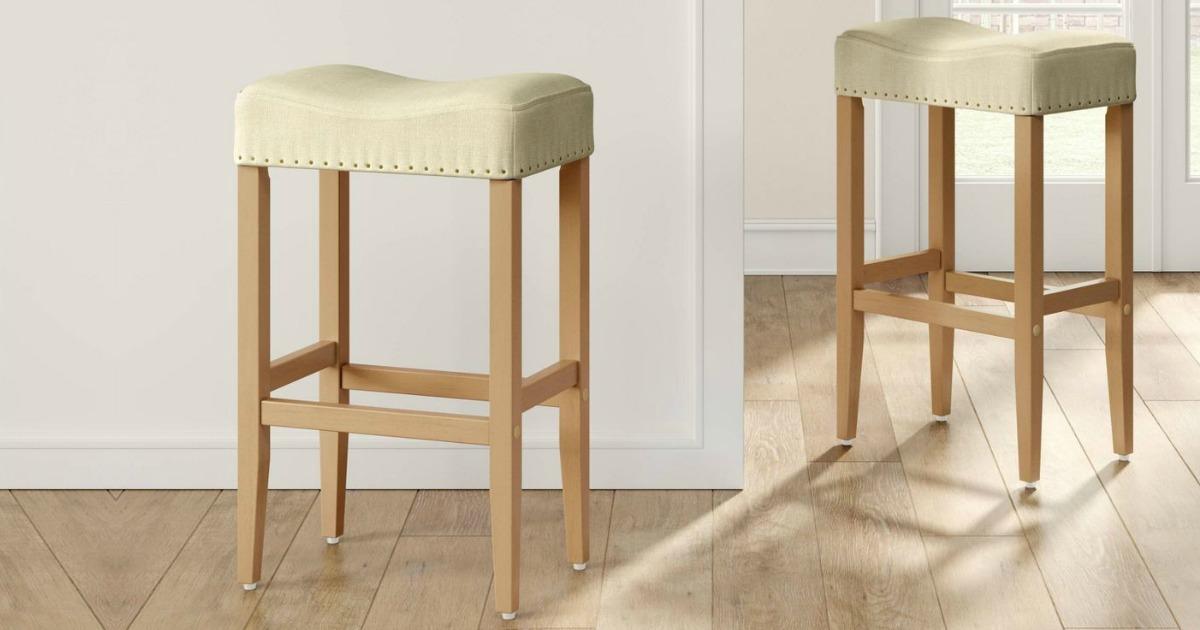set of kitchen stools