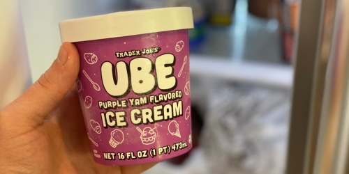 Trader Joe's Ube Purple Yam Flavored Ice Cream Is Back