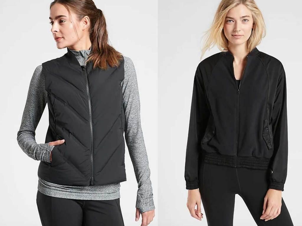 women's vest and light jackets