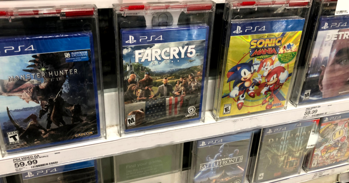 video games in store