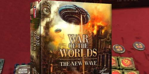 War of The Worlds The New Wave Board Game Just $15.47 on Amazon (Regularly $35)