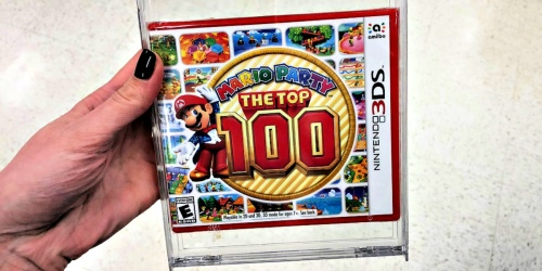 Mario Party: The Top 100 Nintendo 3DS Game Only $24.99 on BestBuy.com (Regularly $40)