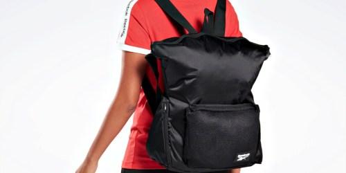 65% Off Reebok Backpacks & Bags + Free Shipping