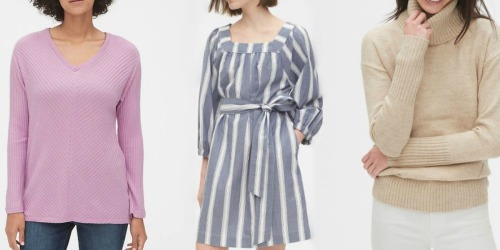 Up to 80% Off Women's Apparel on Gap.com