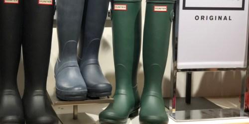 Hunter Original Women's Tall Rain Boots Only $69.99 Shipped (Regularly $150)