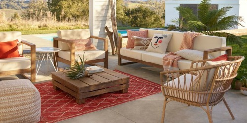 Up to 40% Off Outdoor Furniture on World Market | Patio Sets, Chairs & More