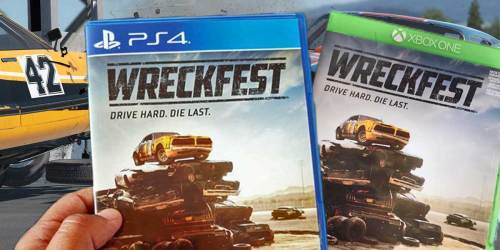 Wreckfest PlayStation 4 or Xbox One Game Just $17.99 on Gamestop.com