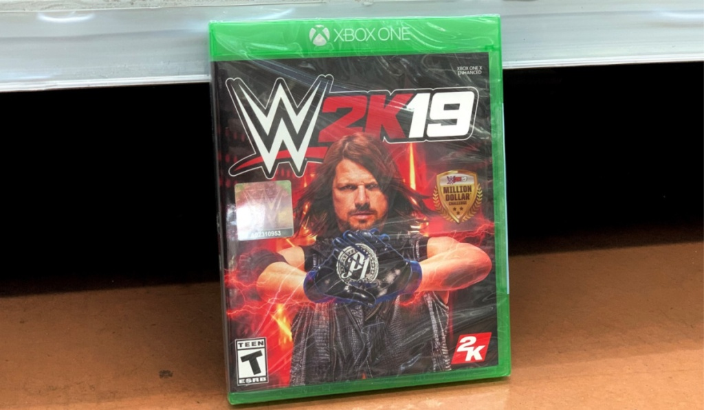 wwe 2k 19 game in store