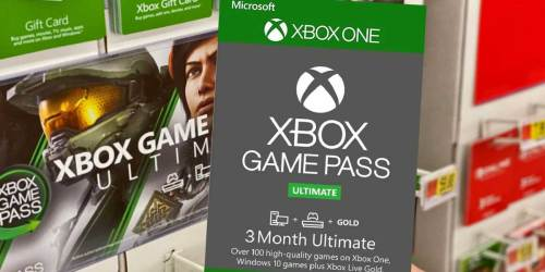 Xbox 3-Month Ultimate Game Pass Only $19.99 on Target.com (Regularly $45)