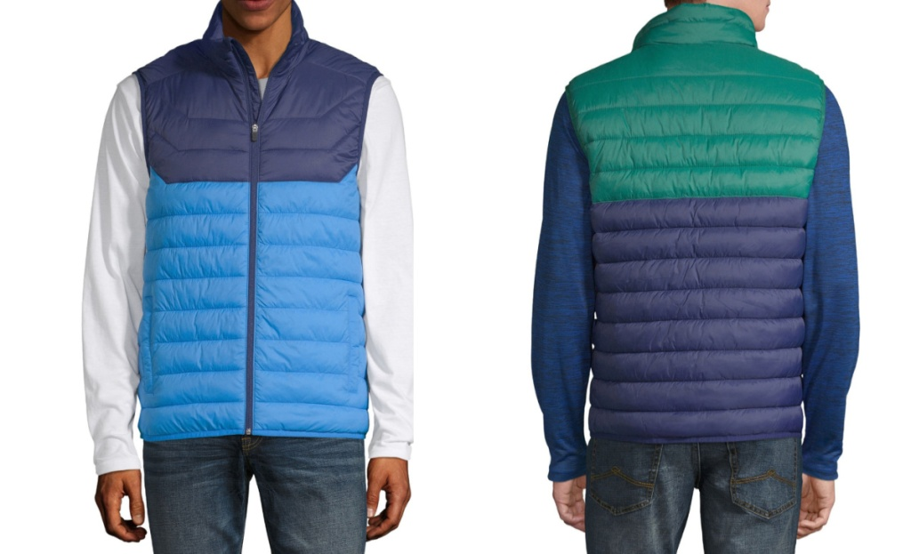xersion mens puffer vest at jcpenney
