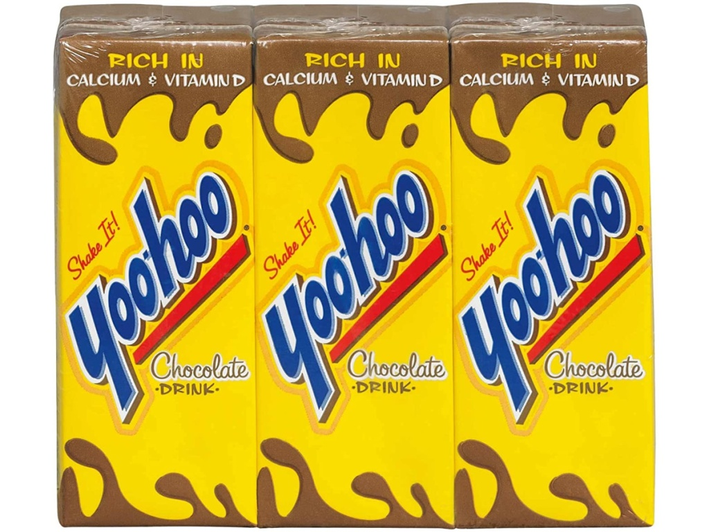 yoo hoo chocolate milk 6 boxes