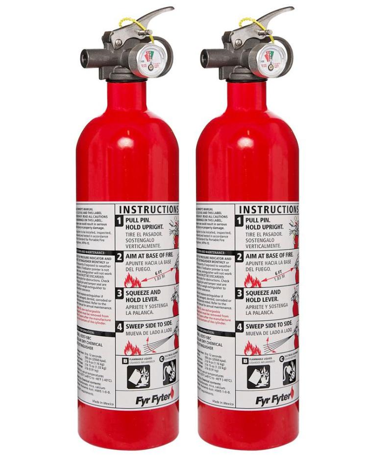 2-pack kiddie fire extinguisher