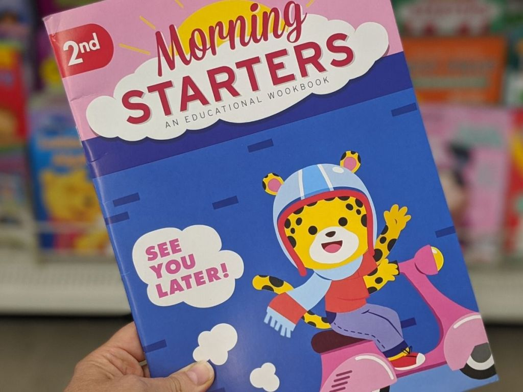 2nd Grade Morning Starters Educational Workbook