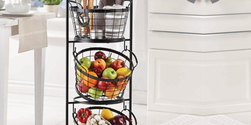 3-Tier Farmers Market Basket Stand Only $39.59 on Zulily (Regularly $100)