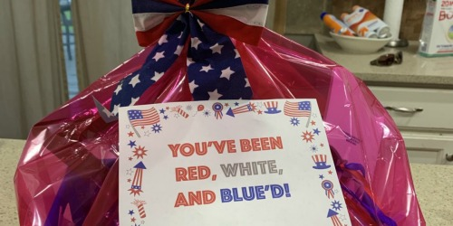 This Reader is Spreading 4th of July Cheer in Her Neighborhood While Social Distancing