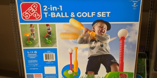 Step2 T-Ball & Golf Set Only $14.99 at ALDI + More Summer Finds