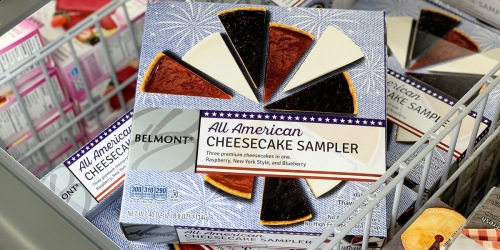 All American 2.5-Pound Cheesecake Sampler Only $9.99 at ALDI
