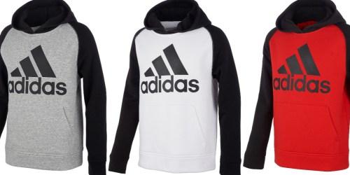 Adidas Kids Hoodies & Jackets from $12.96 on Macys.com