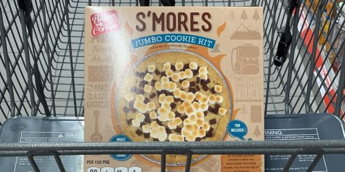 S'Mores Jumbo Cookie Kit Only $4.99 at ALDI