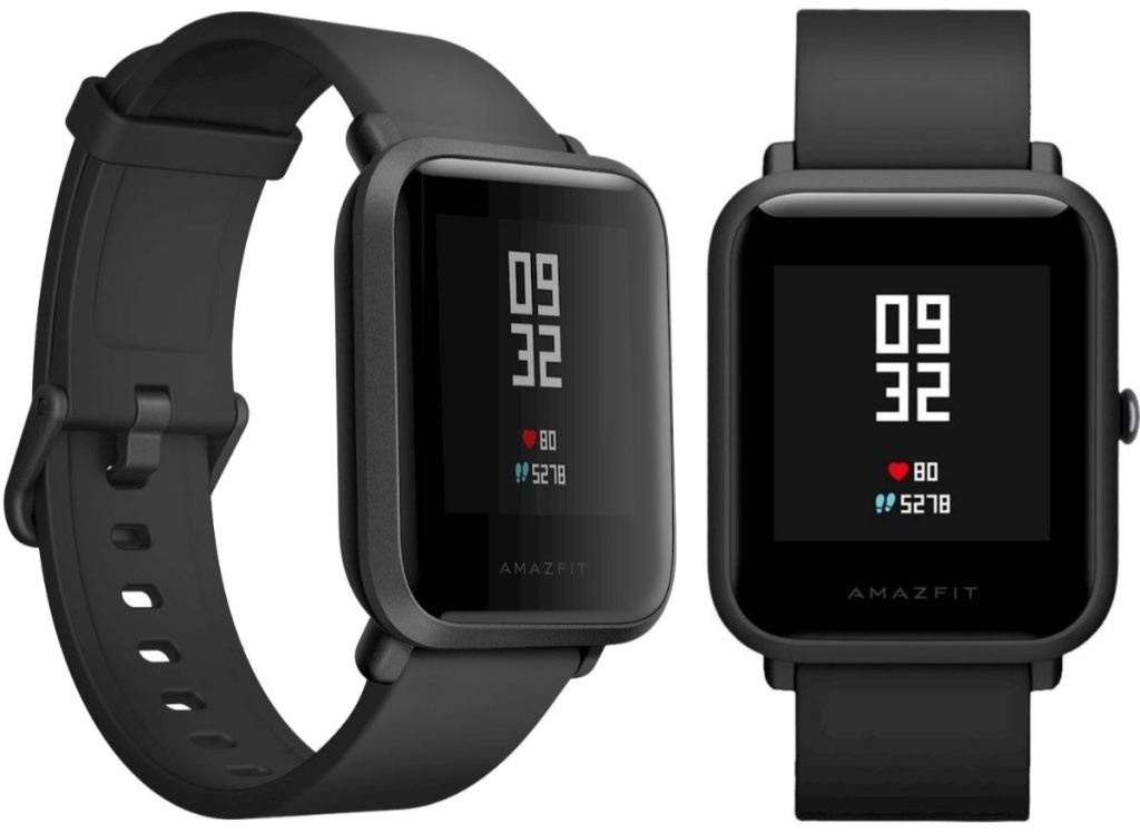 side and front view of smartwatch