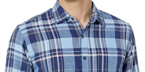 Amazon Essentials Men's Button-Down Shirts from $3.54