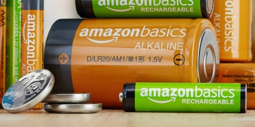 AmazonBasics AAA Rechargeable Batteries 12-Pack Only $10.79 Shipped