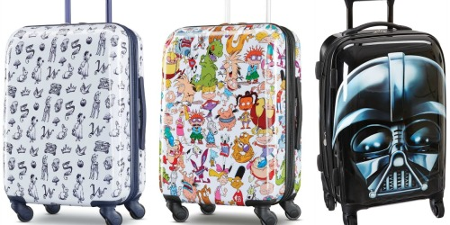 American Tourister Hardside Luggage from $59.99 Shipped on Amazon | Nickelodeon, Disney & More