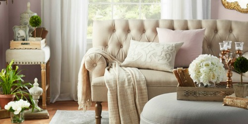 Rolled Armed Settee Just $289.99 Shipped
