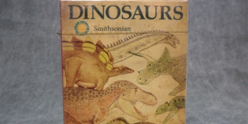 Smithsonian Playing Cards Only $3.88 on Walmart.com (Regularly $10)   Dinosaur Facts on Each Card