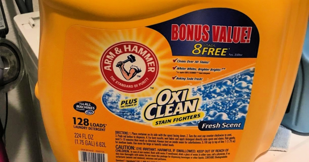 Arm & Hammer 128-loads laundry detergent